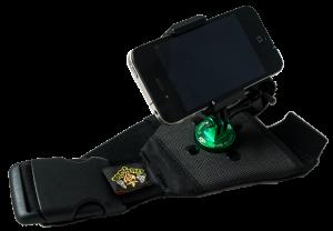 Flugsau Universalhalterung Pro mit SP Gadgets Telefonhalterung