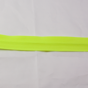 Reissverschluss Neongelb Typ 7