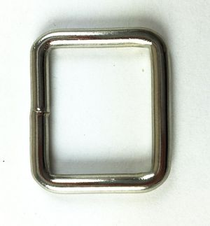 Schlaufe aus rundem Draht 25mm
