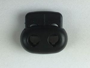 Kordelstopper 2fach, schwarz