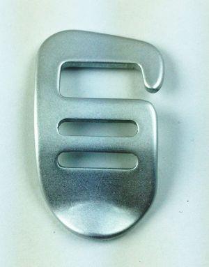 Haken mit Verstellung 15mm rechts